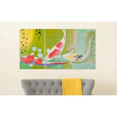 "32 in. x 20 in. ""Beneath The Sea"" Wall Art"