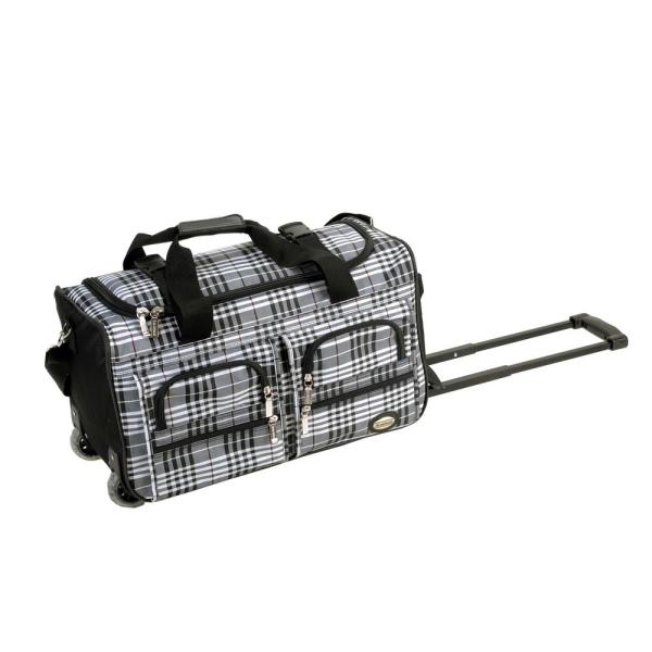Rockland 22 in. Rolling Duffle Bag PRD422-BLACKCRO