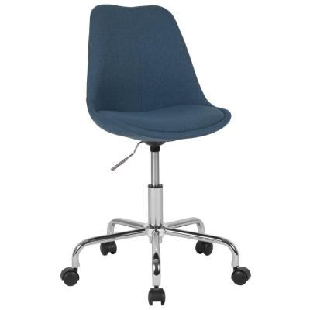 Blue Fabric Office/Desk Chair