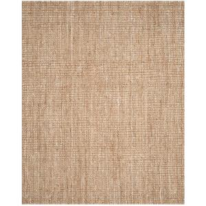 Natural Fiber Beige 8 ft. x 10 ft. Indoor Area Rug