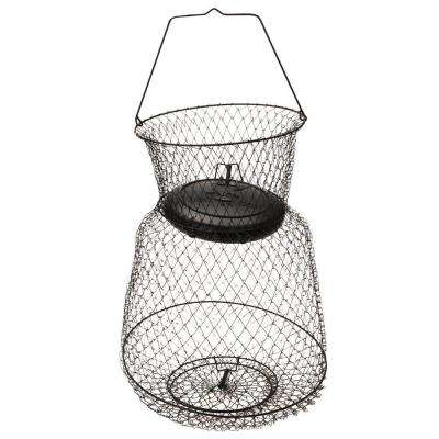 13 in. x 18 in. Medium Floating Wire Fish Basket