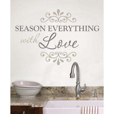 19.5 in. x 17.25 in. Season Everything Wall Decal