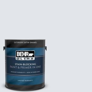 Behr Ultra 1 Gal Ul220 11 Fresh Day Satin Enamel Exterior Paint And Primer In One 985001 The Home Depot