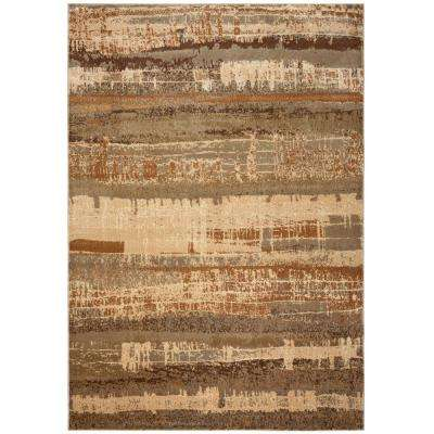 Bellevue Beige 3 ft. 3 in. x 5 ft. 3 in. Area Rug