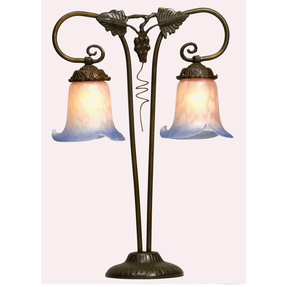Illumine 2 Light Twin Grapevine Table Lamp