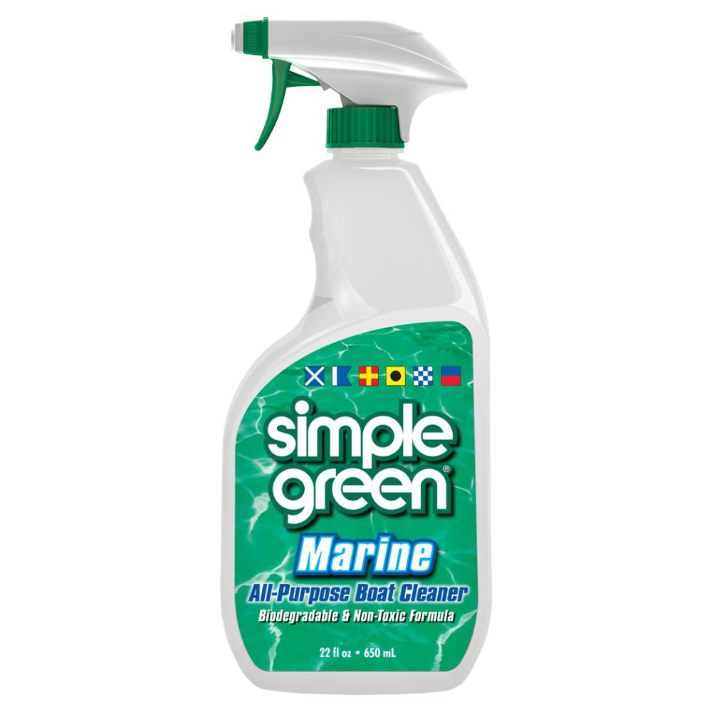 Simple Green 22 oz. Marine All-Purpose Boat Cleaner ...