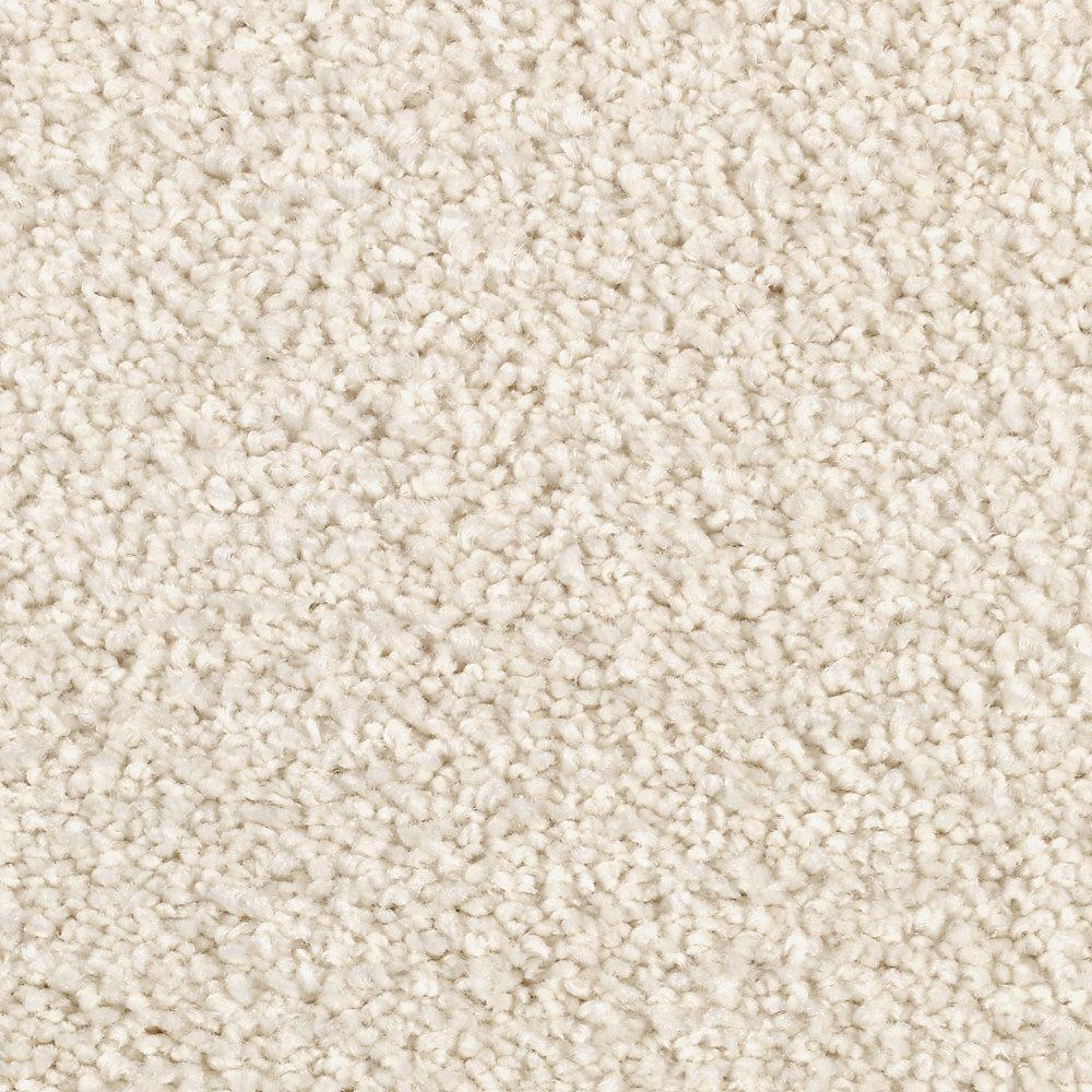 Cashmere III - Color Au Natural Frost Texture 12 ft. Carpet