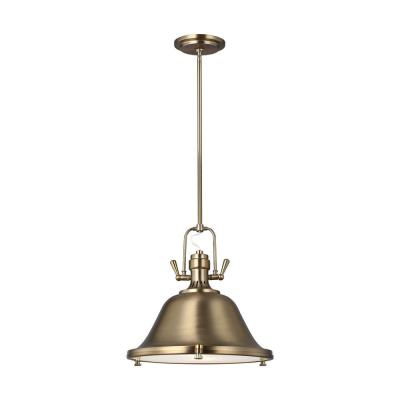 Stone Street 2-Light Satin Bronze Pendant