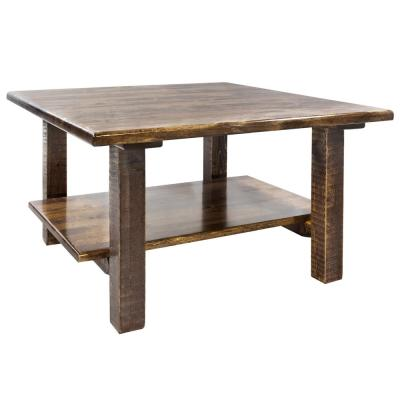 Homestead Collection 18 in. Brown Cocktail Table