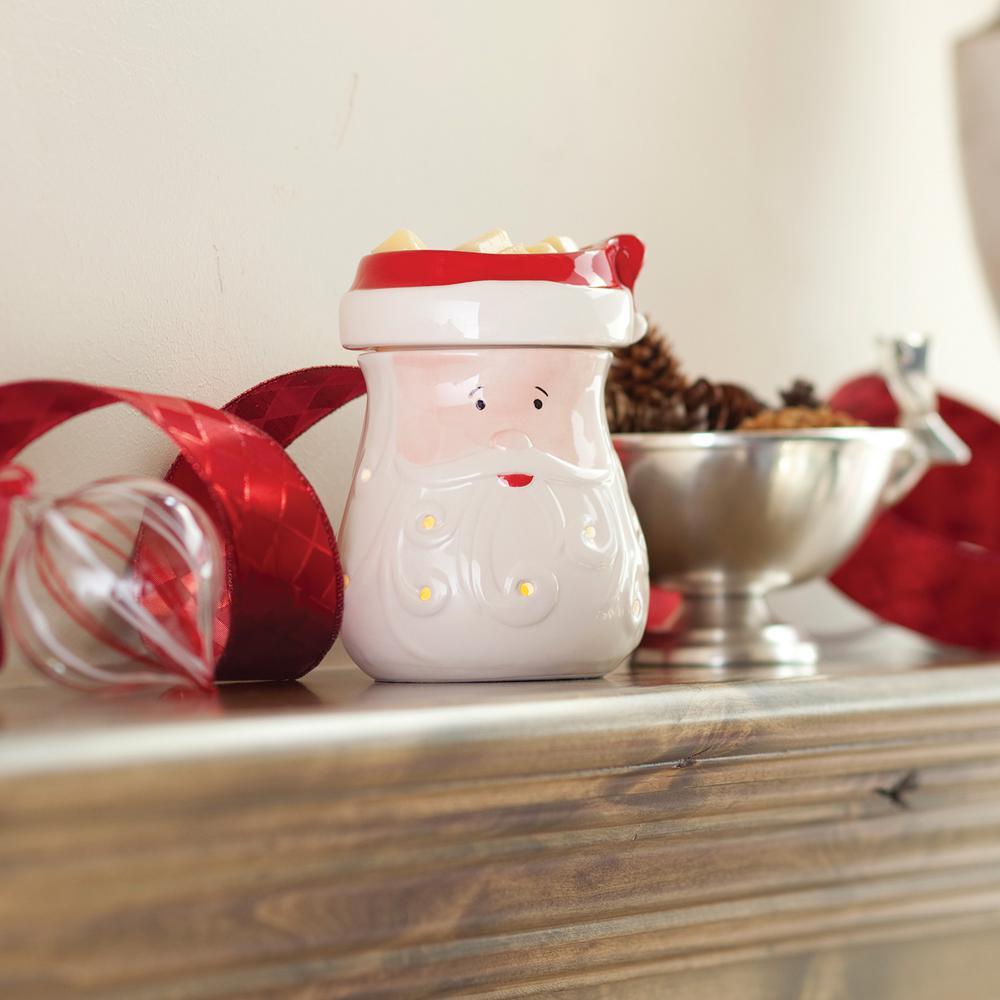 8.8 in. Santa Illumination Fragrance Warmer, Multi