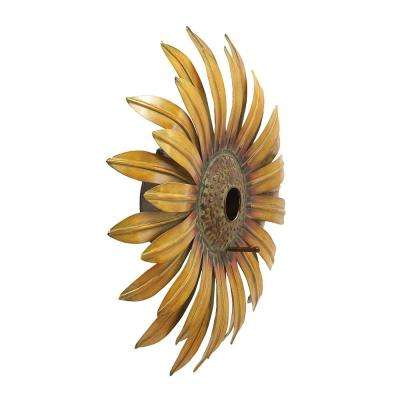 Realistic and Captivating Sunflower Birdhouse