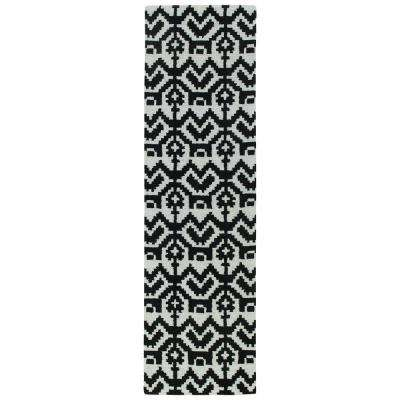 Lakota Black 2 ft. x 8 ft. Runner Rug