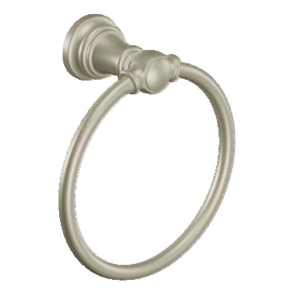 Weymouth Towel Ring in Brushed Nickel