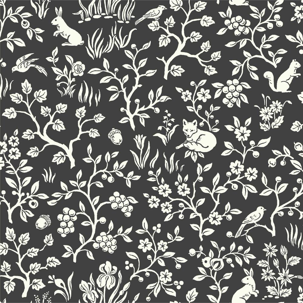 Magnolia Home by Joanna Gaines 56 sq.ft. Fox and Hare Wallpaper