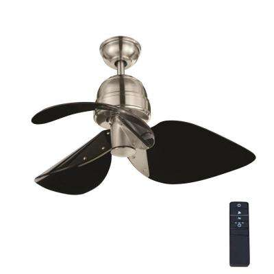 Kyland 32 in. Indoor Brushed Nickel Ceiling Fan with Remote Control
