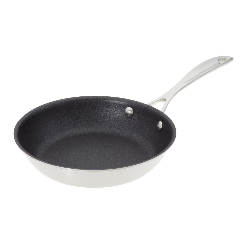 AmericanKitchen American Kitchen 8 in. Premium Non-Stick Frying Pan, Silver