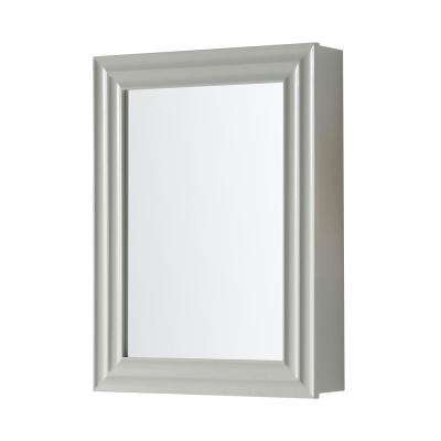 Parker 24 in. x 32 in. Surface Mount Medicine Cabinet in Bedford Grey