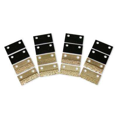 7 in. Concrete Abrasive Removal Hand Tool Replacement Blades Kit