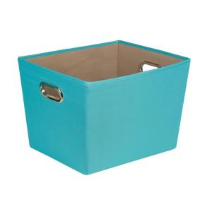 Merveilleux Honey Can Do 38.3 Qt. Medium Decorative Storage Bin With Handles SFT 01993    The Home Depot