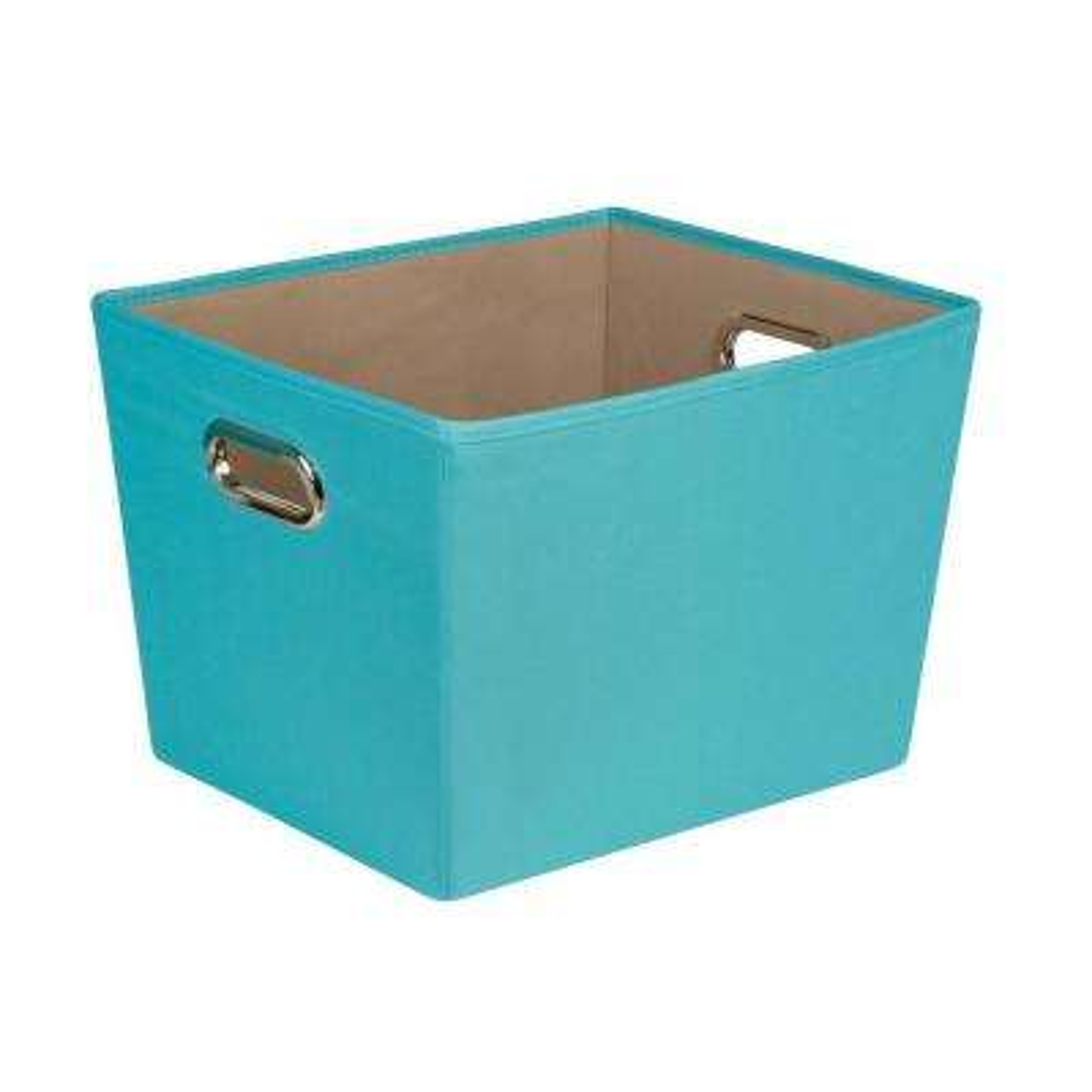 38.3 Qt. Medium Decorative Storage Bin with Handles