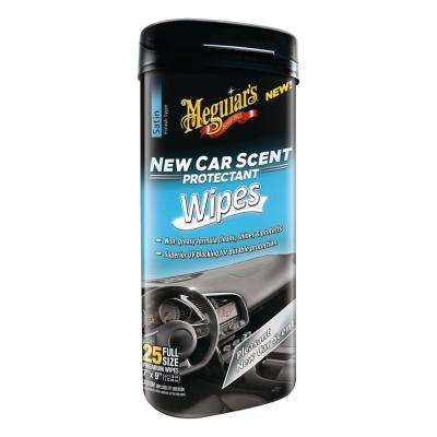 New Car Scent Protectant Wipes (25-Pack)