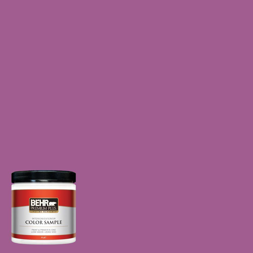 P110 6 Wild Berry Flat Interior Exterior Paint And Primer In One Sample