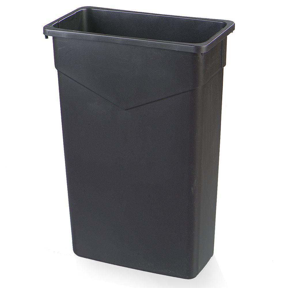 Trimline 23-Gallon Black Polyethylene Can (4-Pack)