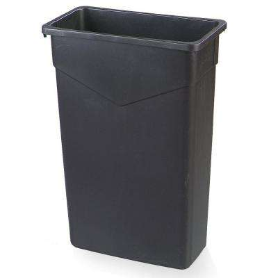 Trimline 23-Gallon Black Polyethylene Can (4-Pack)