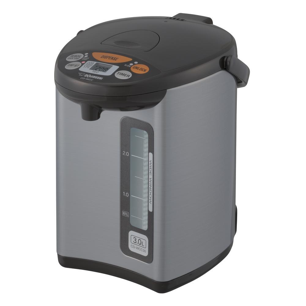 Zojirushi Micom Water Boiler and Warmer, Stainless