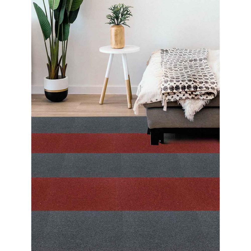 DIP Jasper Commercial/Residential 19.7 in. x 19.7 in. Adhesive Tab Carpet Tile Squares (4 Tiles/Case)