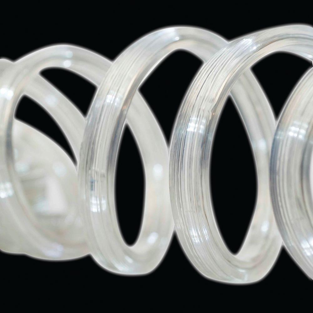 Brite Star 12 ft. 50-Light LED White Flat Rope Light