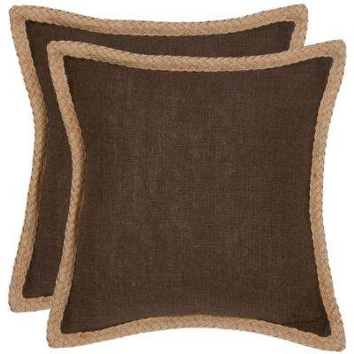 Sweet Sorona Texture & Weaves Pillow (2-Pack)