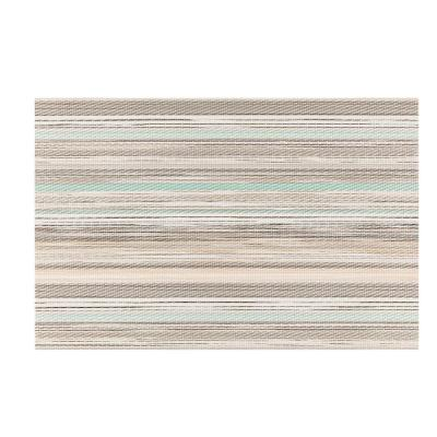 EveryTable Green and Brown Stratta Placemat (Set of 12)