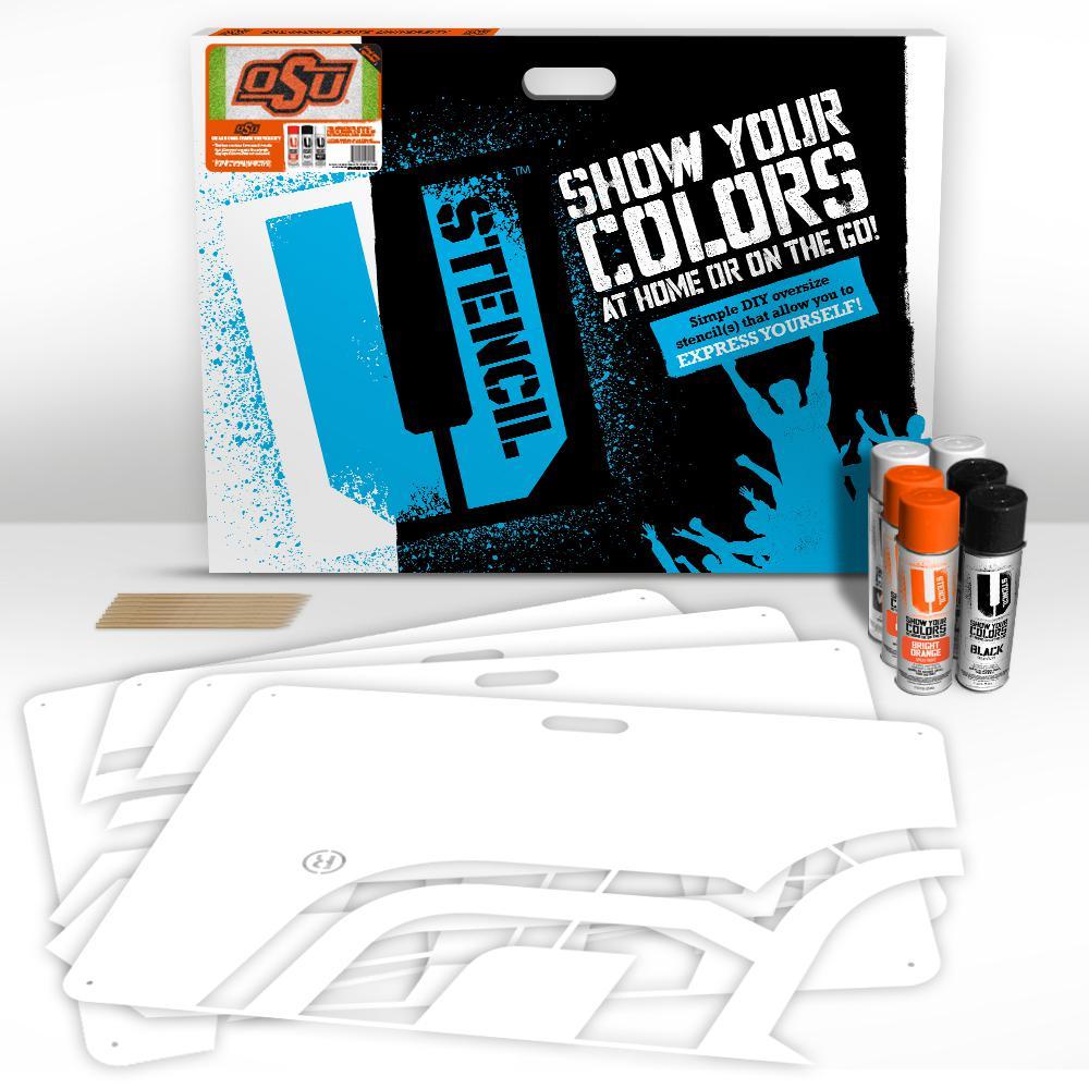 OSU 3-Panel Lawn Stencil Kit