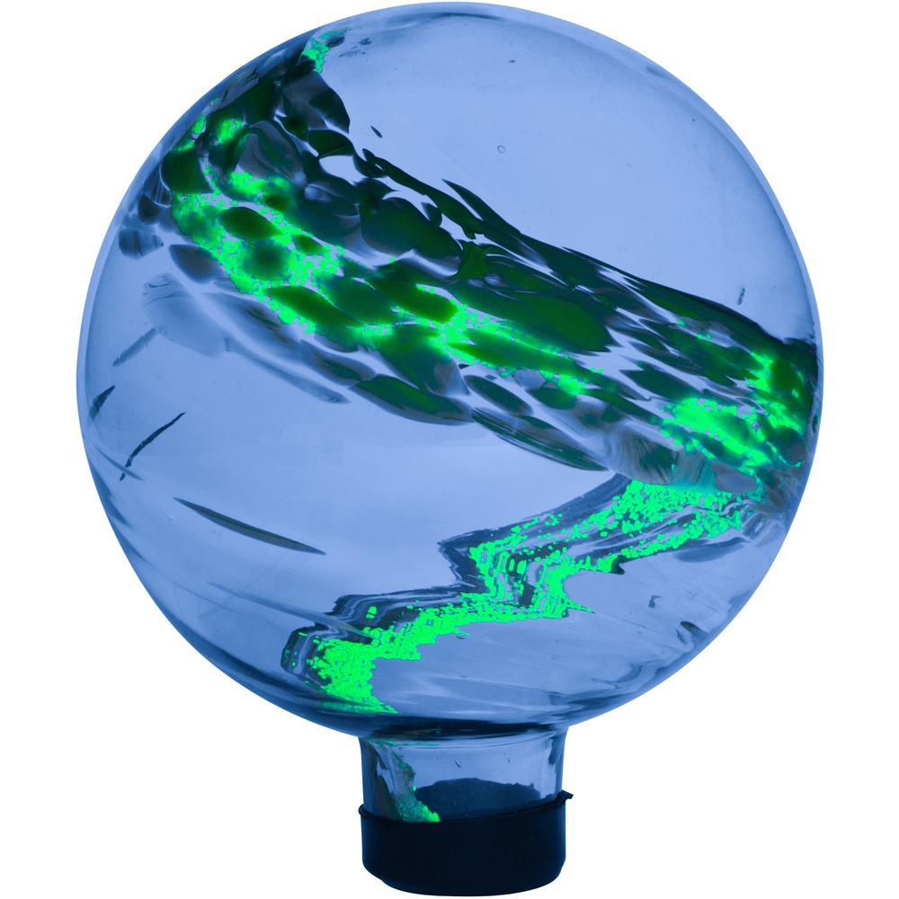 8 in. Glass Glow in Dark Gazing Globe
