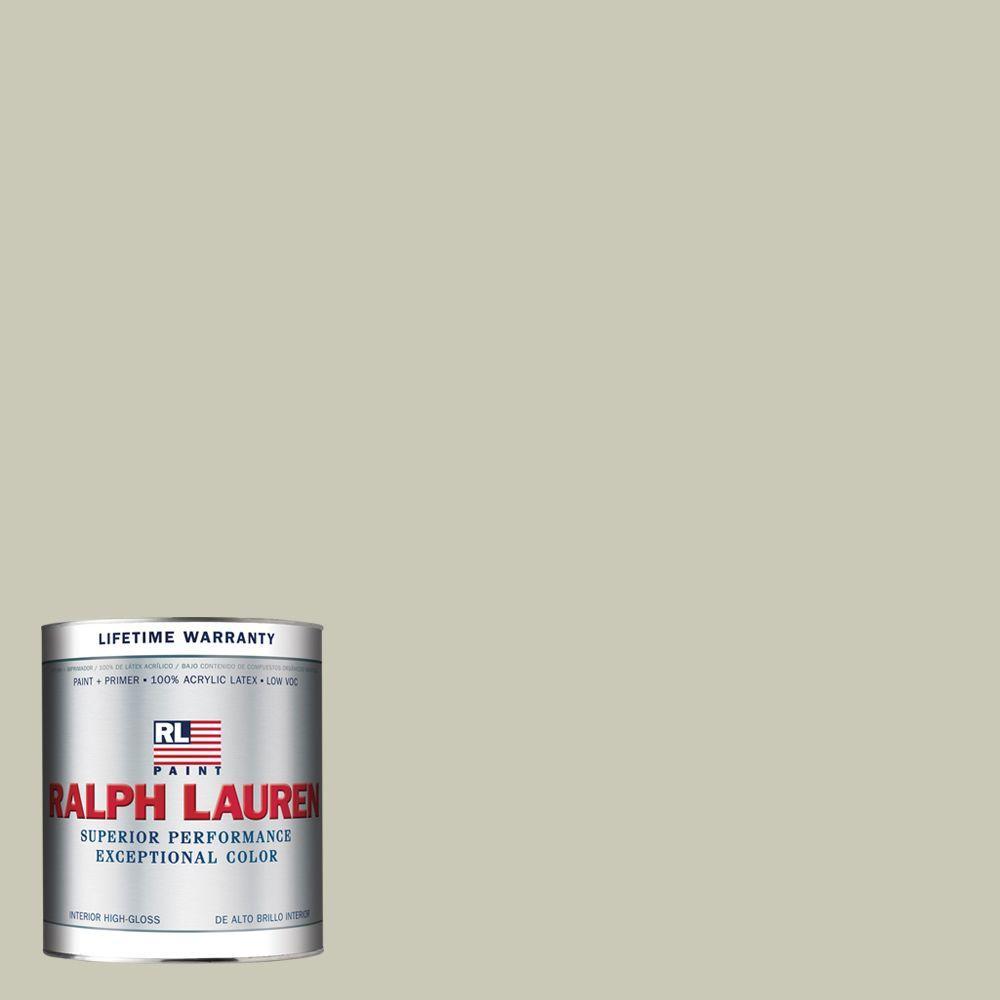 Ralph Lauren 1-qt. Garden Lime Hi-Gloss Interior Paint