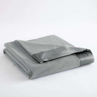 Full Queen Greystone Year Round Polyester Sheet Blanket