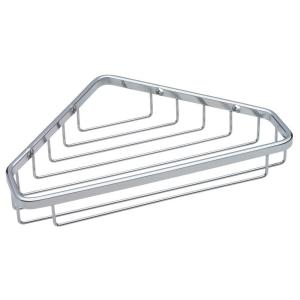 Franklin Brass Large Wire Corner Shower Caddy in Bright Stainless by Franklin Brass