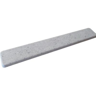 22 in. Cultured Marble Universal Sidesplash in Frost
