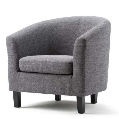 Austin Grey Fabric Arm Chair