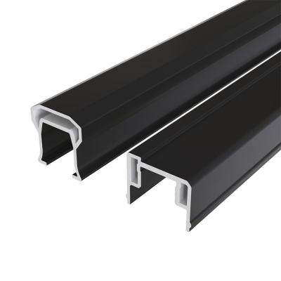 HavenView CountrySide 8 ft. x 36 in. Composite Line/Stair Section H-Channel Top Rail, Bottom Rail