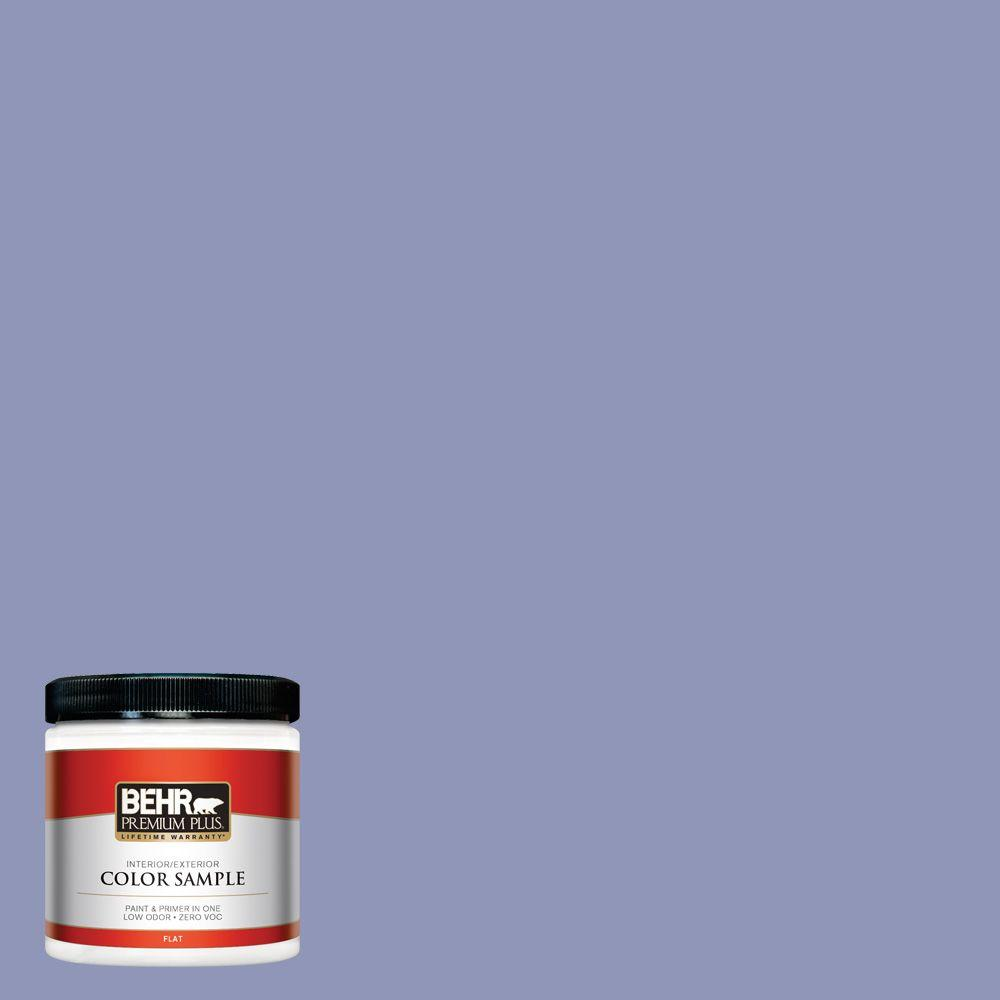 8 oz. #BIC-20 Lively Lilac Interior/Exterior Paint Sample