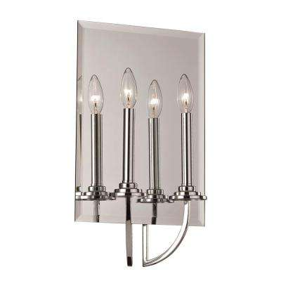 2-Light Polished Chrome Bath Light
