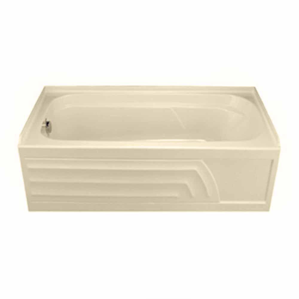 American Standard Colony 5 ft. Acrylic Left-Hand Drain Bathtub in Bone