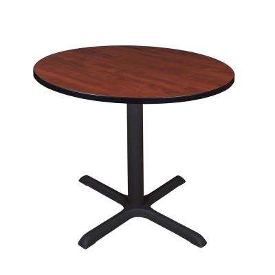 Cain Cherry Round 36 in. Breakroom Table