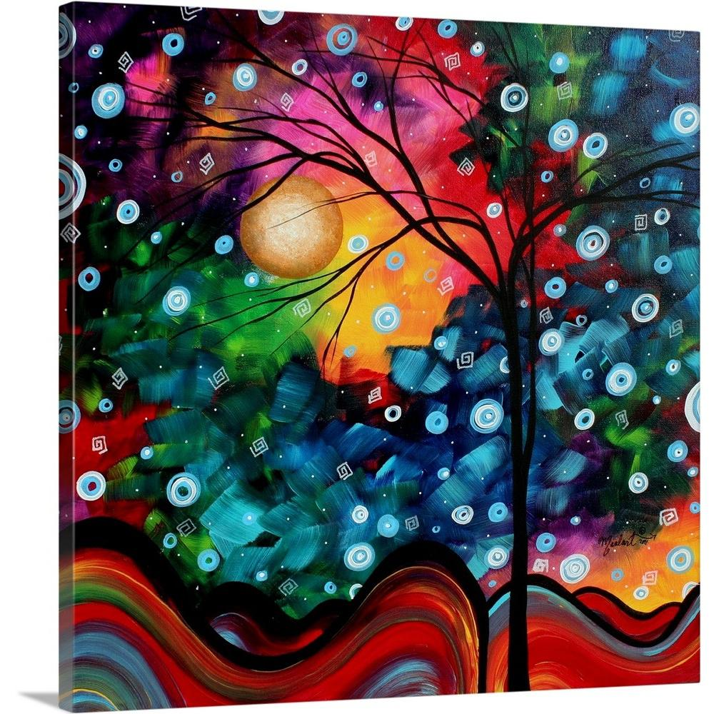 ''Brilliance in the Sky'' by Megan Duncanson Canvas Wall Art