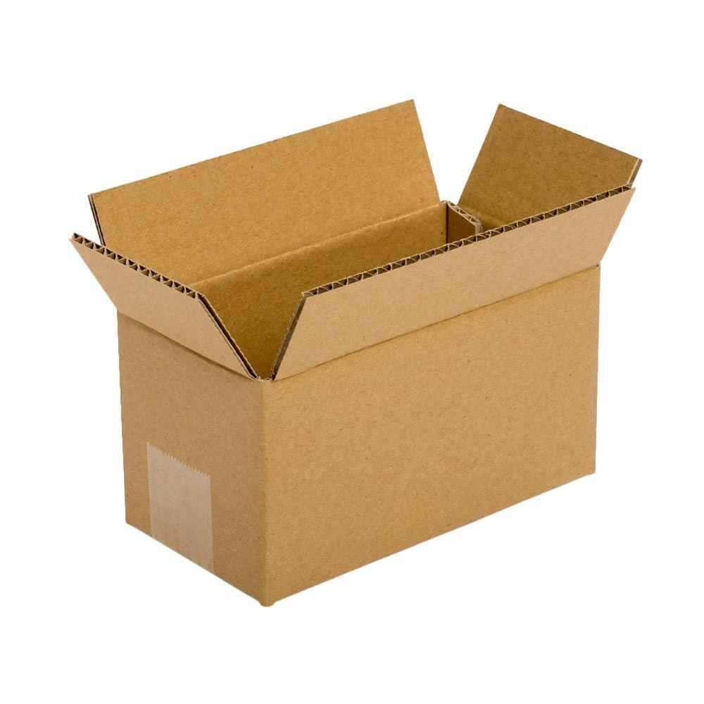 Pratt Retail Specialties 8 in. L x 4 in. W x 4 in. D Box (25-Pack)