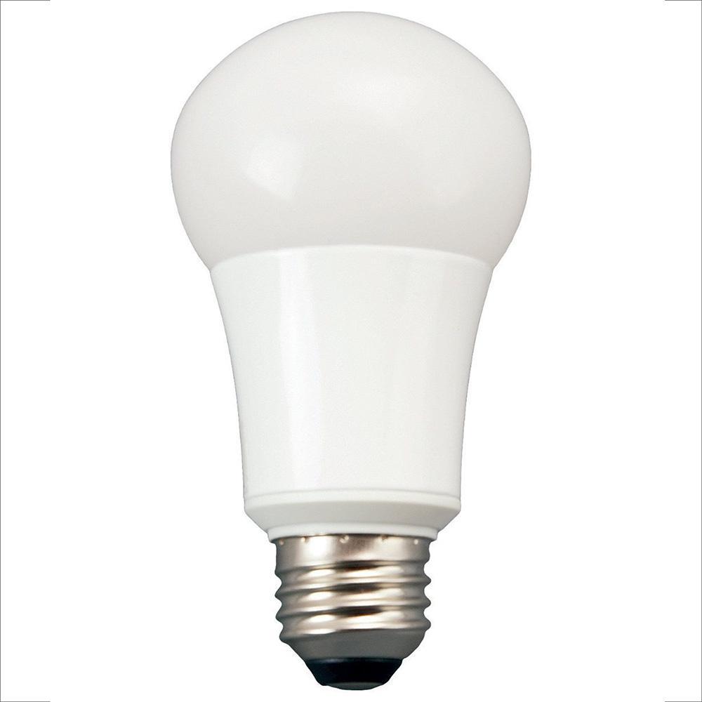 60-Watt Equivalent Soft White A19 Non Dimmable LED Light Bulb (8-Pack)