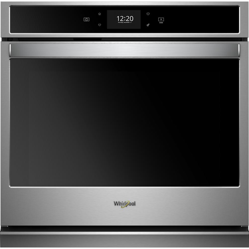 Whirlpool 30 in. Smart Single Electric Wall Oven in Fingerprint Resistant Stainless Steel