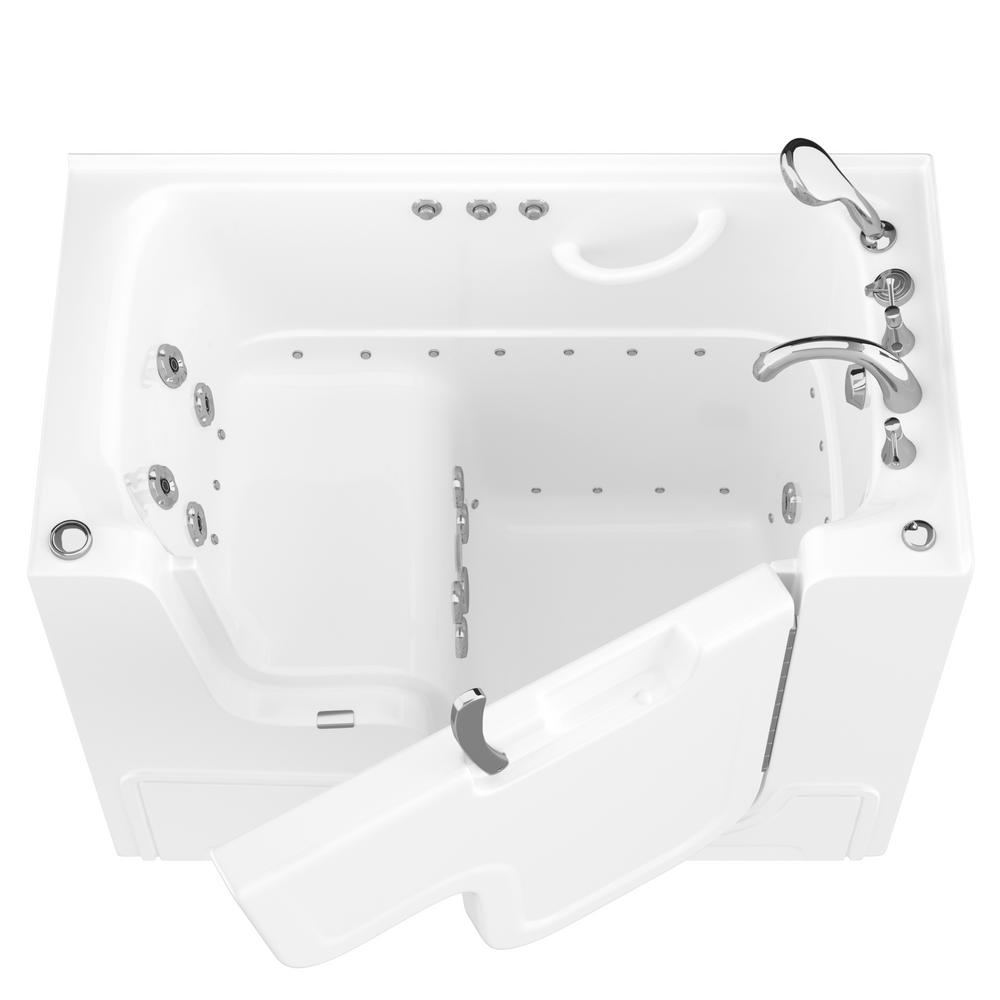 Universal Tubs Hd Series 53 In Right Drain Wheelchair Access Walk